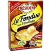 President fondue 3FROMAGES450G