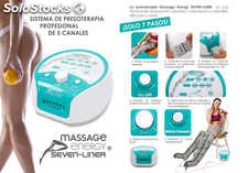 Presoterapia Profesional 5 Canales Massage Energy Seven-liner