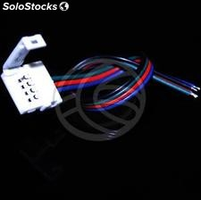Pressure connector with cable for RGB LED strip 12mm (VH15)