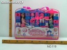 Princess bloques 64PCS