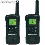 Prismaticos motorola walkie talkies T60 pack