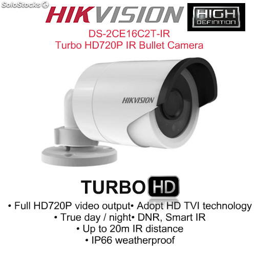 prix promotion 4 cameras de surveillance turbo hd hikvision. Black Bedroom Furniture Sets. Home Design Ideas