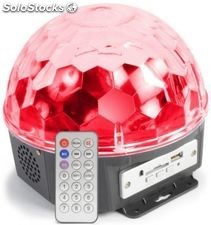 Pro-dj fireball led rgb + reproductor MP3 con mando + altavoz