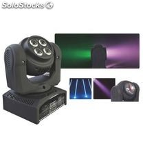Pro-dj mini cabeza movil doble led wash rgbw 64W​