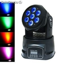 Pro-dj mini cabeza movil led wash rgbw dmx 70W