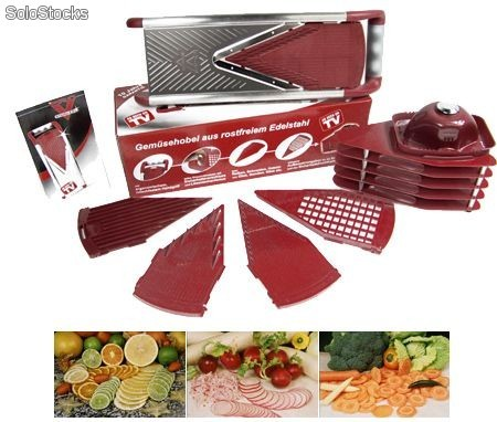 pro v slicer anunciado en tv cortador rallador verduras slicer. Black Bedroom Furniture Sets. Home Design Ideas