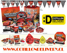 Productos Cars Cumpleaños pack