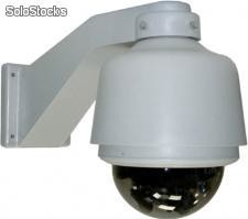 Professional Wired Internal/External Pan/Tilt, Day/Night Speed Dome Camera & Video Server package - Art.Nr.: HTS-458