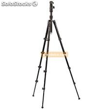 professionale treppiedi camera-video testate sferiche 137 cm nero