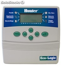 Programador riego hunter ecologic 4 est. interior