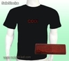 Programmable Message led t-shirt (Mol721)