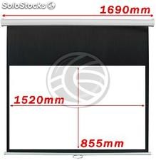 Projection screen 16:9 DisplayMATIC 1520x855mm white wall (OW41)