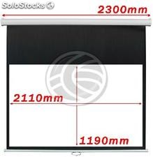 Projection Screen 2110x1190mm 16:9 DisplayMATIC white wall (OW43)