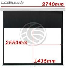 Projection Screen 2550x1435mm 16:9 DisplayMATIC white wall (OW44)
