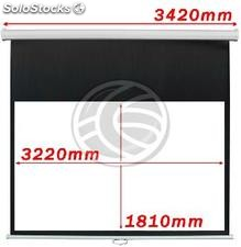 Projection Screen 3220x1810mm 16:9 DisplayMATIC white wall (OW45)
