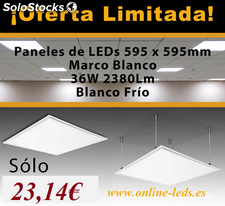 Promoción Panel Led 60x60 36W 2380LM 23,14€
