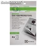 Protection foil hobs 4 pcs