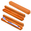 Protective Box Toothbrush , Trend-Orange