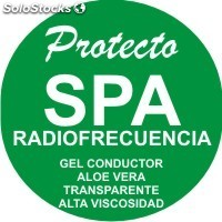 Protecto gel conductor Radiofrecuencia galon envase flexible!!