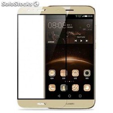 Protector cristal full face huawei g8 oro
