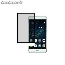 Protector cristal full face huawei p9 / p9 lite blanco