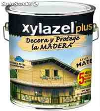 Protector Lasur Para Madera Mate Castano 4lt Xylazel Plus