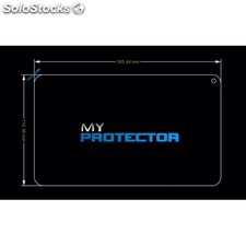 Protector pantalla tablet 7 pulgadas 186 x 111mm anti rotura