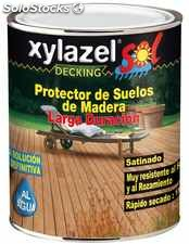 Protector Suelos Maderas Tropicales Color Teca Satinad 750ml