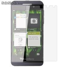 Protectores de pantallas screen protector mica para blackberry z10 bb10