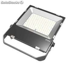 Proyector cree led pro + mean well 150w blanco cálido