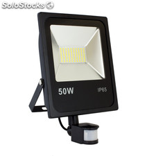 Proyector LED con Sensor 50W