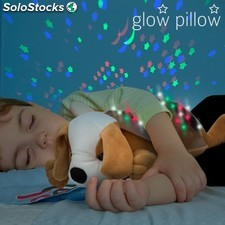 Proyector LED con Sonido Perrito Glow Pillow PDS02-H4530271