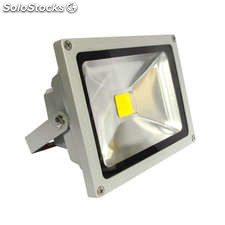 Proyector led de exterior microled 30w blanco cálido