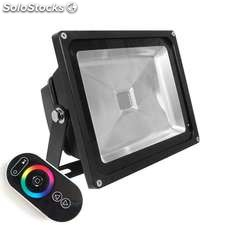 Proyector led de exterior microled 30w rgb-rf rgb