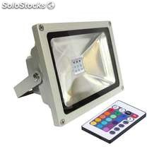Proyector led de exterior microled 30w rgb rgb