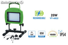 Proyector Led IP54 Recargable 20W 1600LM 4500K