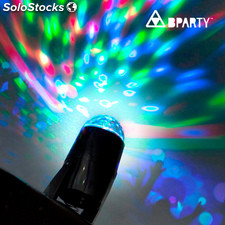Proyector LED Multicolor B Party, ideal para fiestas y celebraciones, gira 360º,