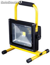 Proyector LED Recargable 30w
