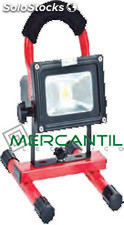 Proyector Led Recargable 6000K 10W Rts