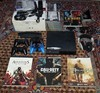 PS3-Slim-160GB-boxed-HUGE-bundle-4-controladores-amp-20-jogos-EXTRAS: Número Wha