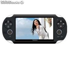 Psp 4.3pol playstation mp5 tv saido FM tf ranhura camera 3000jogos 4gb memo