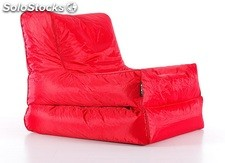 Puf cama Big bean bag rojo