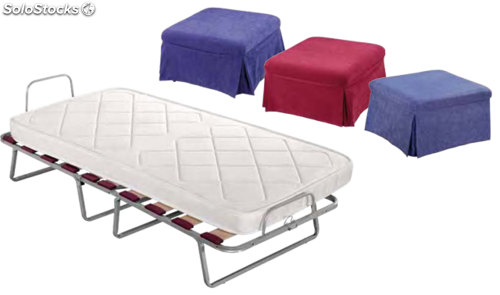 Puff cama plegable for Puff cama 1 plaza