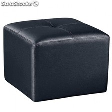 Puff Square - Color - Negro