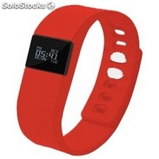 "Pulsera de actividad | Wearable BRIGMTON BSPORT-11-R pantalla 0.49"" bluetooth"