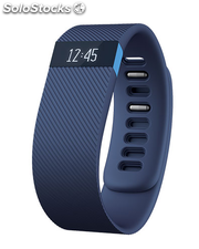 Pulsera fitness Fitbit Charge HR azul grande