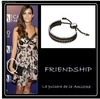 Pulsera Friendship Links London pulsera Sara Carbonero , Feliciano Lopez