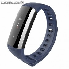 Pulsera leotec smartband color health azul - pantalla oled color - BT4.0 -