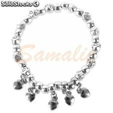 Pulsera Marketing Abalorios Corazon Ref. z-676 cifra