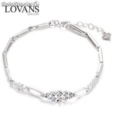 Pulseras Lovans jewelry en plata estilo simple